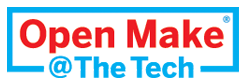 Open Make @ The Tech logo