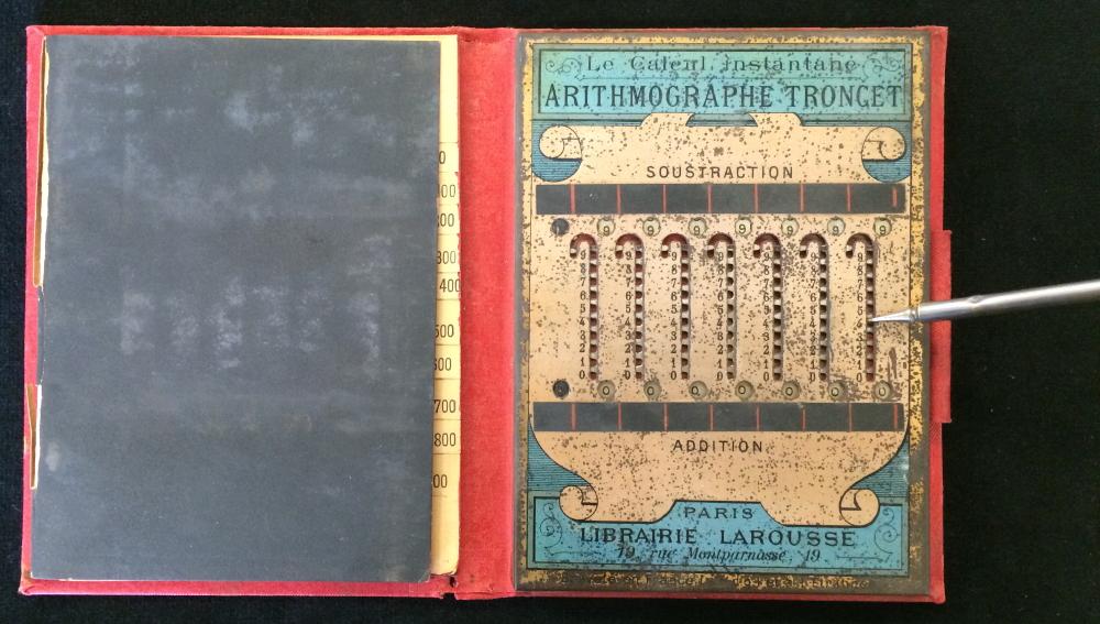 Arithmographe Mechanique (Mechanical Calculator)