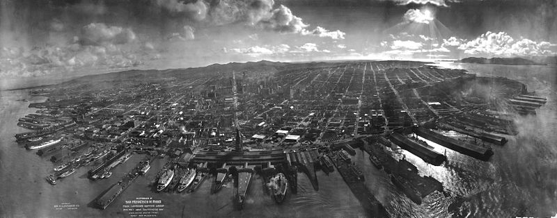 San Francisco in Ruins by George R. Lawrence